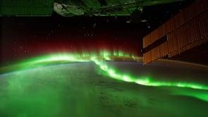 Visão da Terra em uma viagem espacial real!