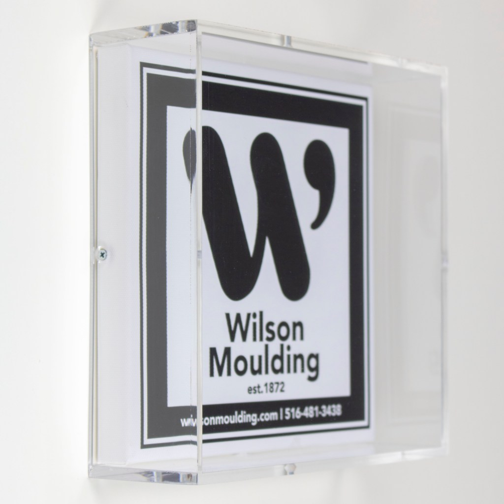 custom Acrylic Box - Wilson Moulding