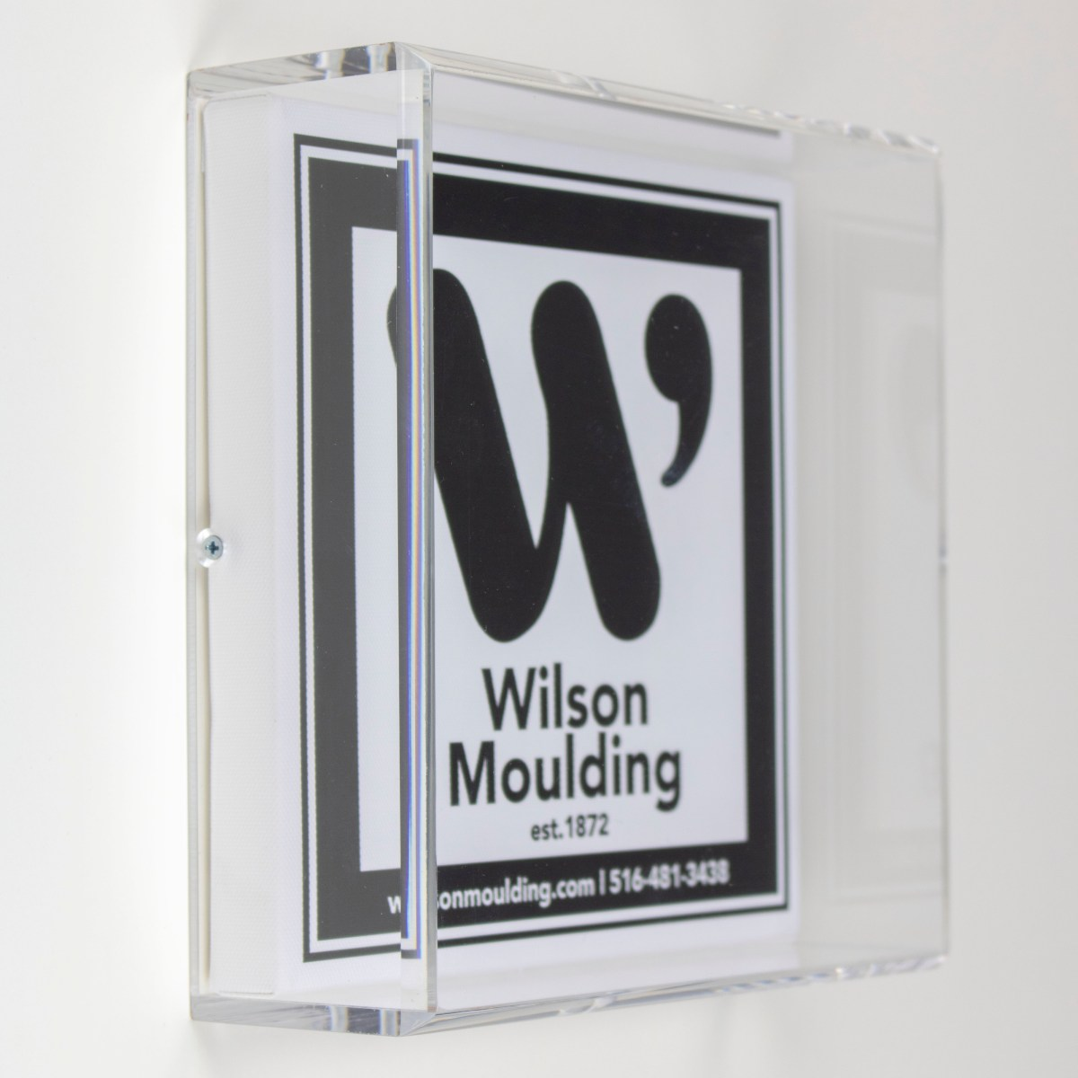 Beveled Acrylic Box - Wilson Moulding