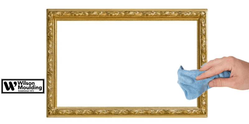 How To Clean An Ornate Frame