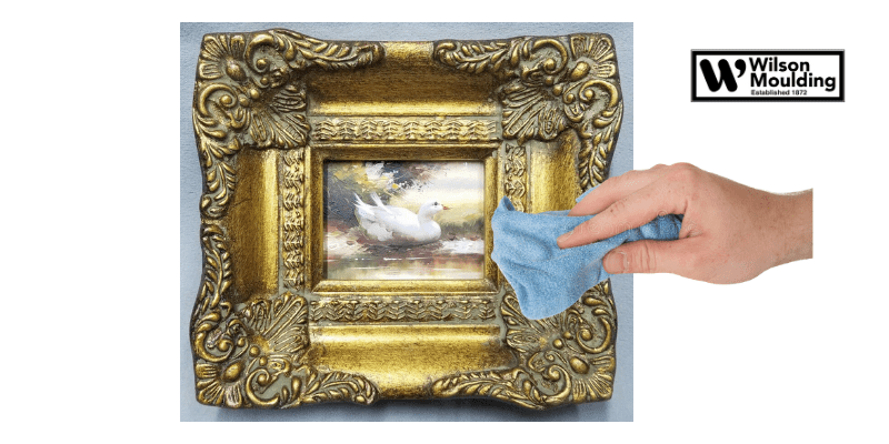 How To Clean An Ornate Wood Frame