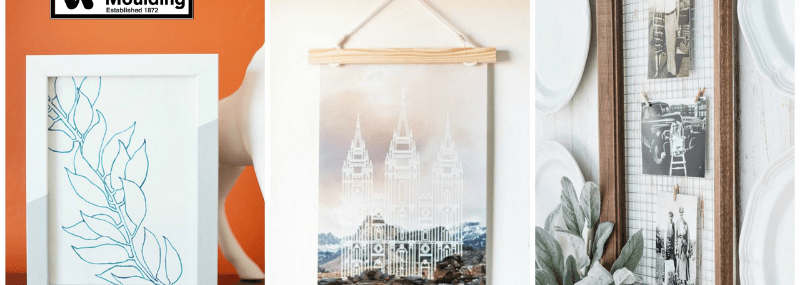 How To Personalize Your Picture Frames