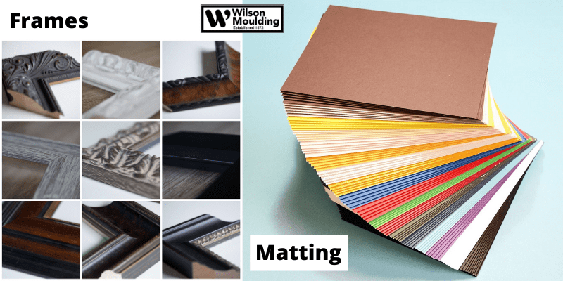 How to Choose the Right Frame and Matting for Artwork