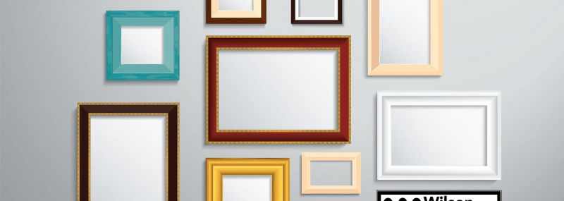 How to Hang Picture Frames Straight