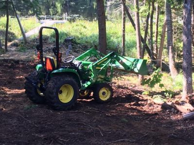 3032E Tractor at work!