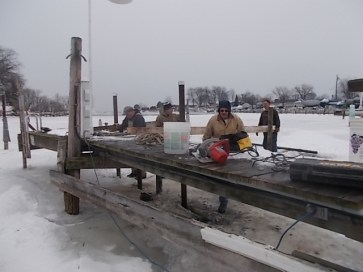 2014 WYC Dock Work Party 004