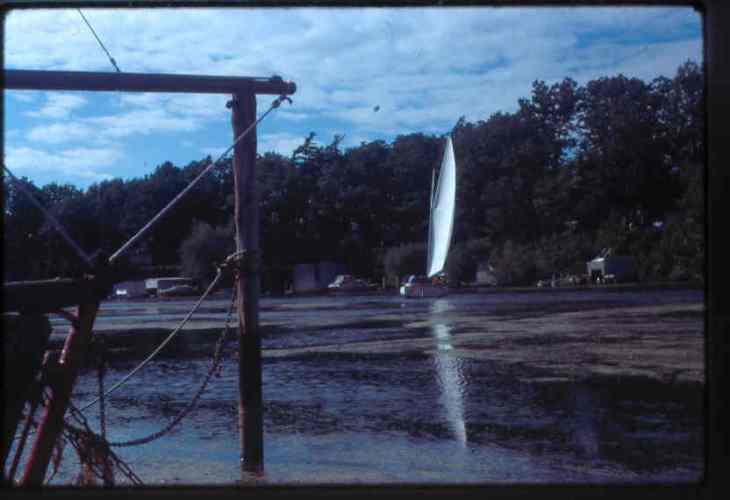 Jim Ellis's cat boat