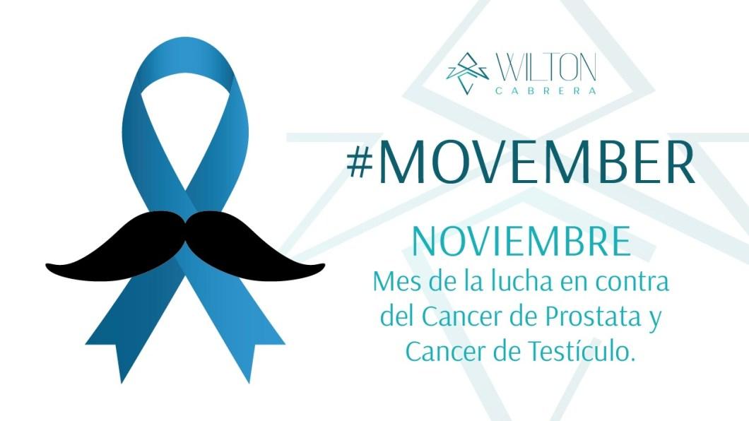 MOBEMBER - Noviembre Mes del Cancer de Prostata y Cancer de Testículo