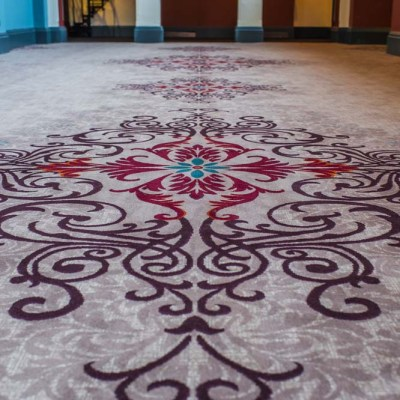 Beaumont Estate Bespoke Wilton Carpet Design