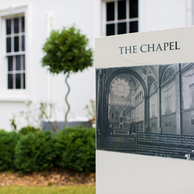 Beaumont Estate Chapel Sign