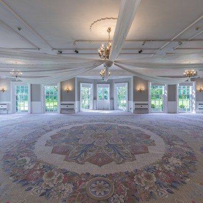 Bespoke commercial carpet at by Wilton Carpets Statham Lodge