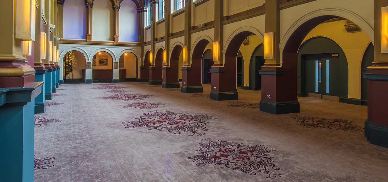 Bespoke carpet by Wilton Carpets at Beaumont Estate