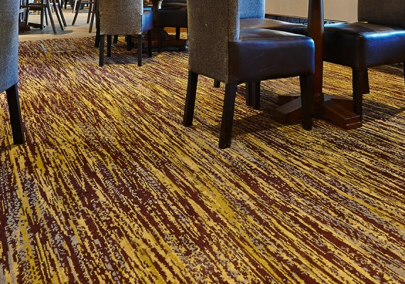 Sculpture commercial Axminster carpet range from Wilton Carpets