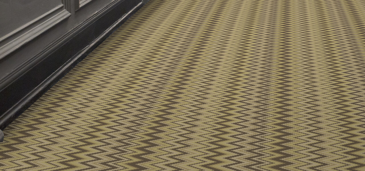 Wilton Carpets Zig Zag Range