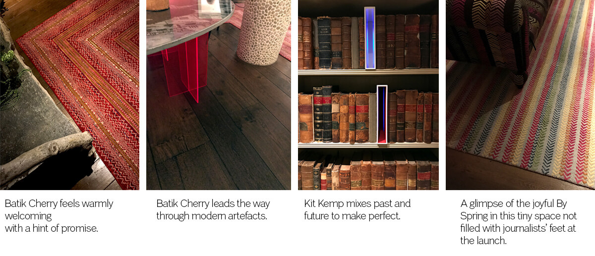 Wilton Carpets: Kit Kemp at Soho Hotel Launch