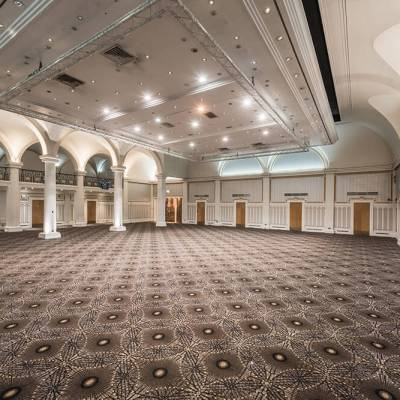 Wilton Carpets, The Ballroom at The Queens, Leeds, UK