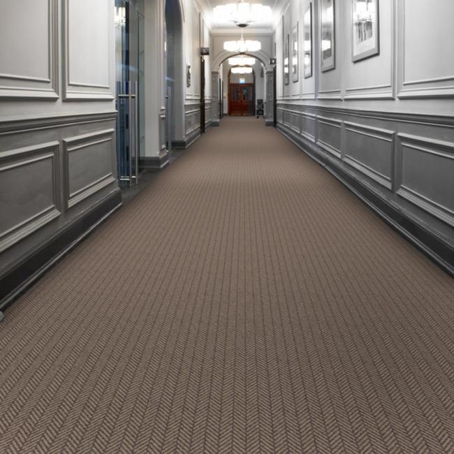 Berwick Wark Herringbone Tufted Carpet from Wilton Carpets