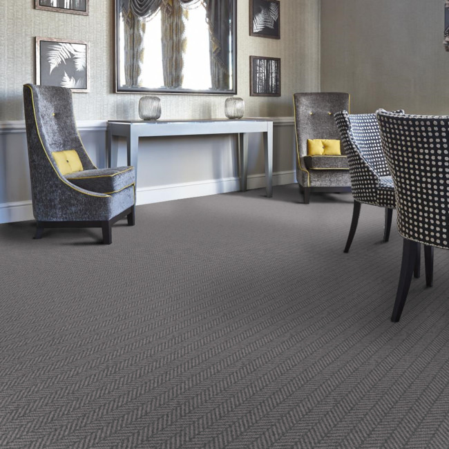 Berwick Swinton Herringbone Tufted Carpet from Wilton Carpets