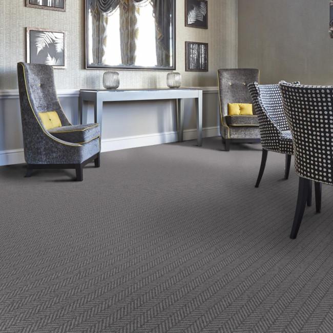Berwick Swinton Herringbone Tufted Carpet from Wilton Carpets