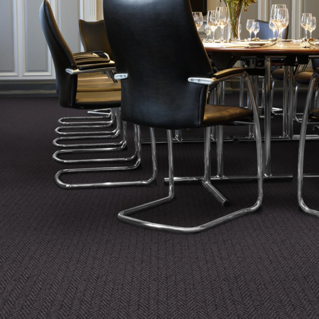 Berwick Birgham Herringbone Tufted Carpet from Wilton Carpets