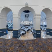 axminster carpet for the Winter Gardens Pavilion by Wilton Carpets