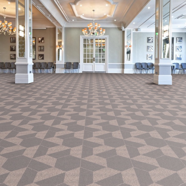Mansion Hex from the Mansion bespoke Axminster carpet range from Wilton Carpets