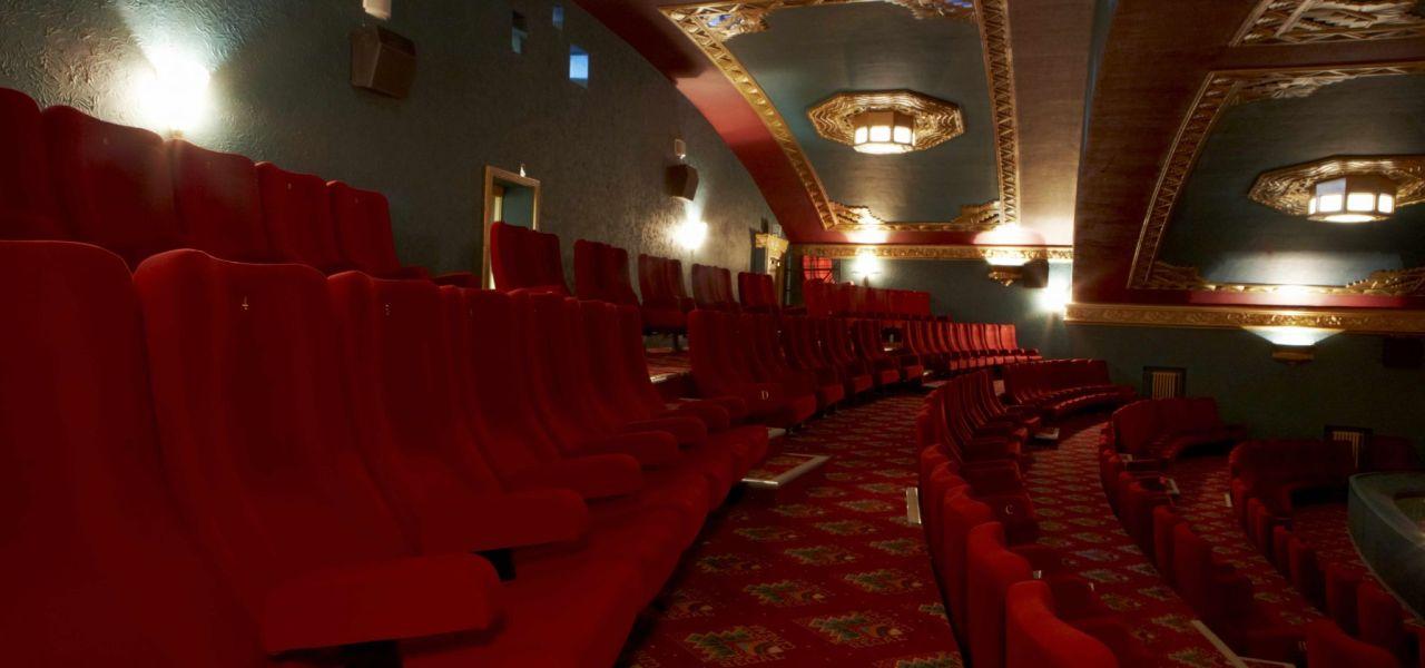 Cinema Carpet at Regal Cinema from Wilton Carpets