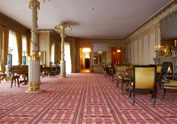 Public Building Carpet, contract axminster and tufted carpets made in the Uk by Wilton Carpets