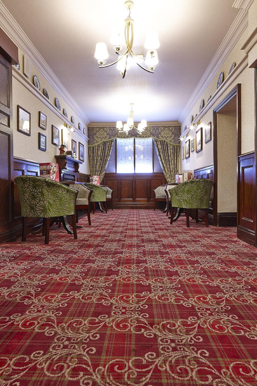 George Hotel Wilton Carpets