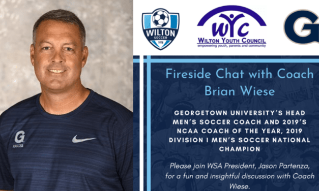 WSA Fireside Chat: Georgetown University Men's Soccer Coach and 2019 National Champion, Brian Wiese