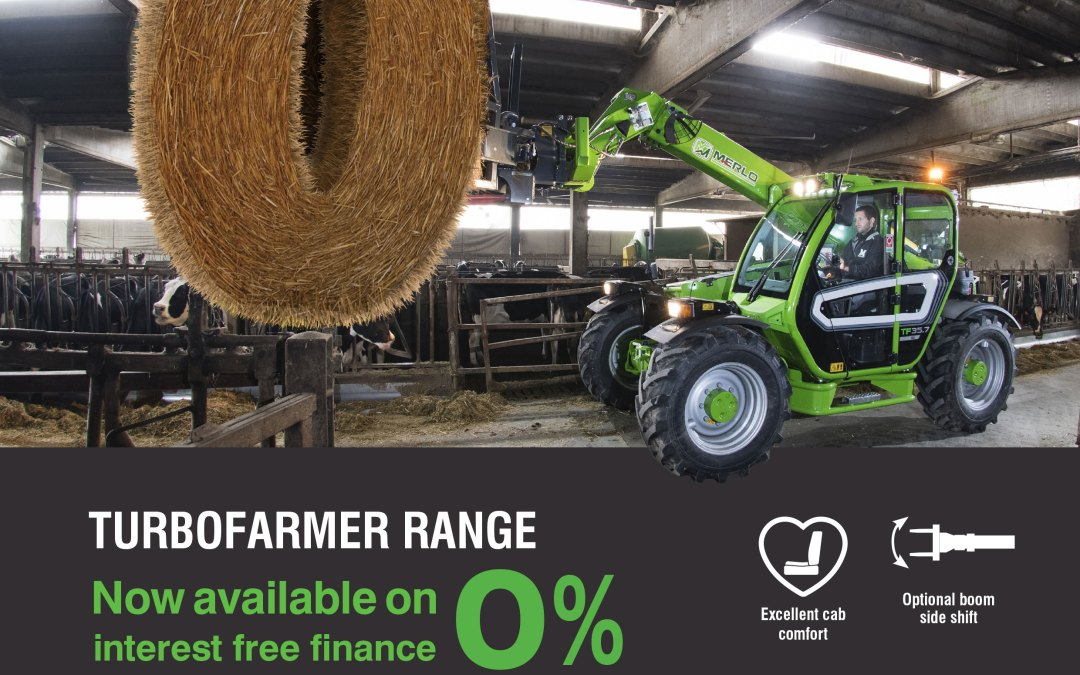 Merlo 0% Finance offer continues!