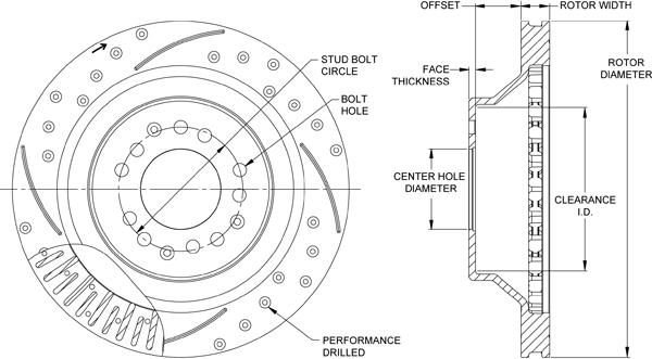Rotor No: 160-12189-bk