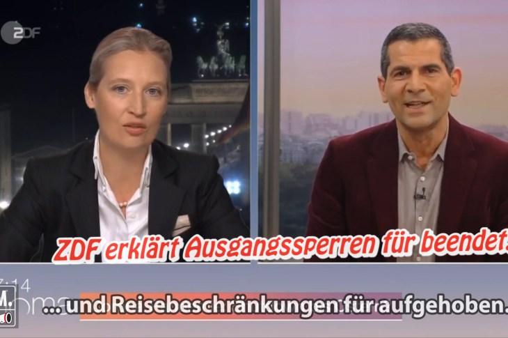 ZDF erklärt Ausgangssperren