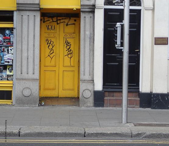 gele deur Dublin