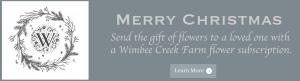 Give flowers from Wimbee Creek Farm!