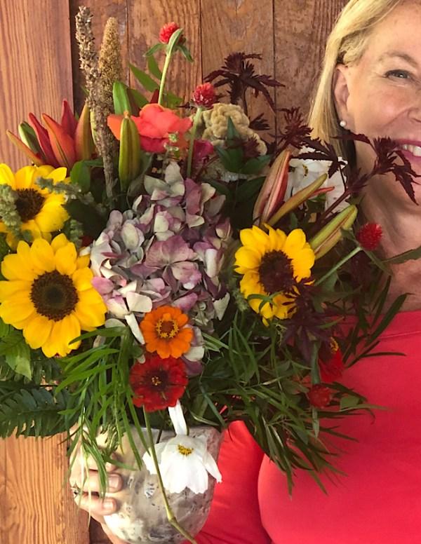 Fall flower workshop on Wimbee Creek Farm