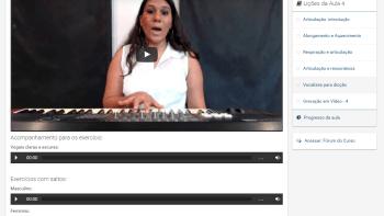 Curso de Canto e Aulas de Técnica Vocal - 1 - Exemplo de Lição
