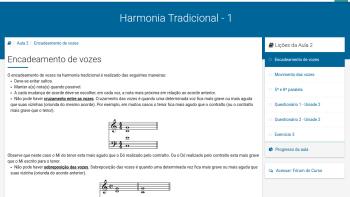 Curso de Harmonia Tradicional - Encadeamento de vozes