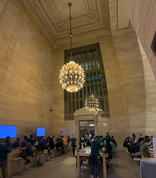 Apple Shop im Grand Central Terminal