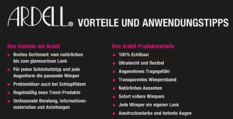 ARDELL-Wimpern