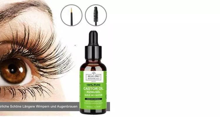Rizinusöl Augenbrauenpflege Beste Erfahrungen So Gehts Richtig