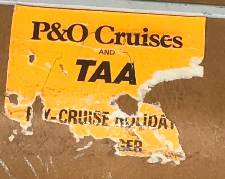P&O and TAA Transfer Sticker