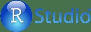 RStudio Logo Blue Gradient