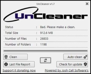 Toolkit Item: Uncleaner