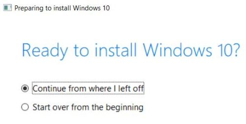 May 2019 Update Shows Improved Installer.pickup