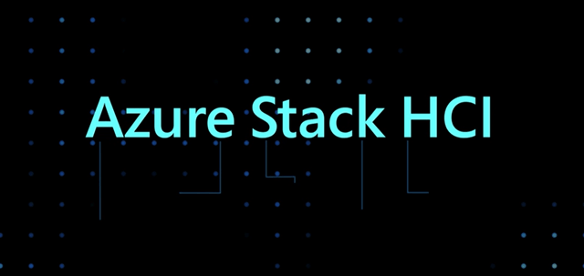 Graphic from MS Azure blog post announcing Azure Stack HCI