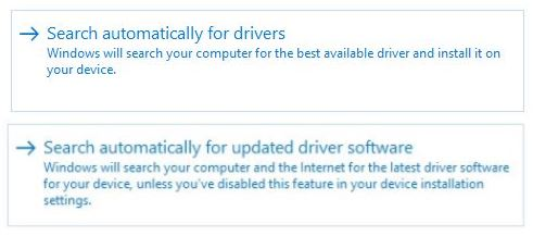 Whereas DevMgr Driver Update used to search the Internet, it does so no longer
