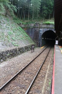 The tunnel by the station