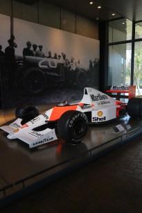 One of Honda F1 cars