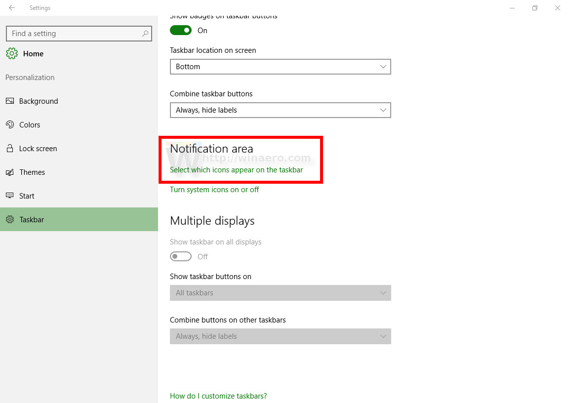 Fix Notification Area System Tray Icons Are Messed Up In Windows 10